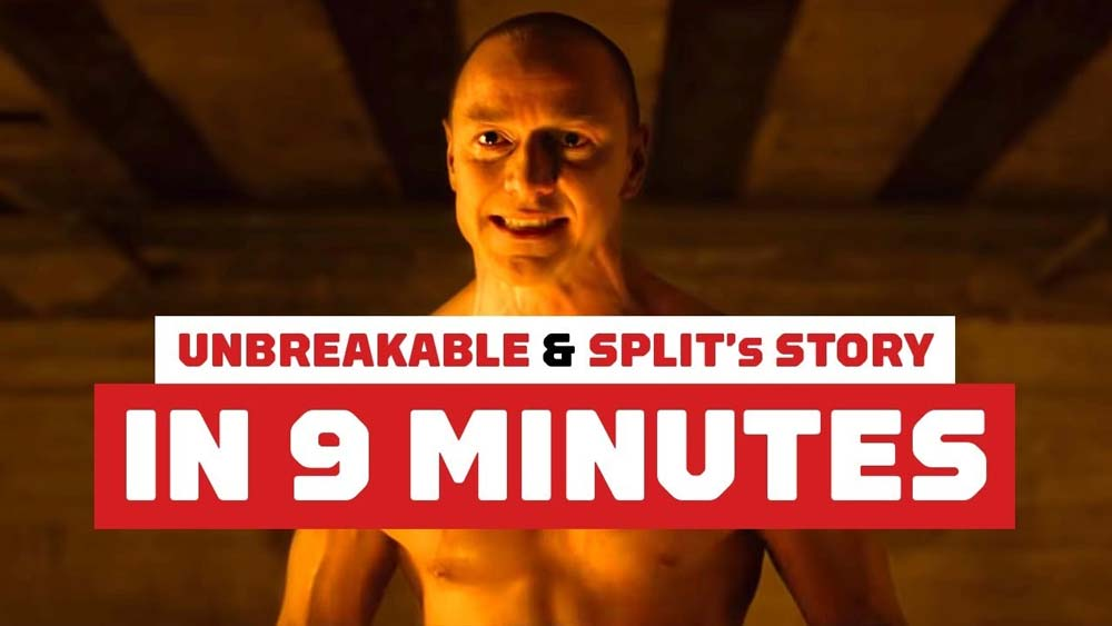 Video recap of 'Unbreakable' and 'Split' – Watch before you go see 'Glass'