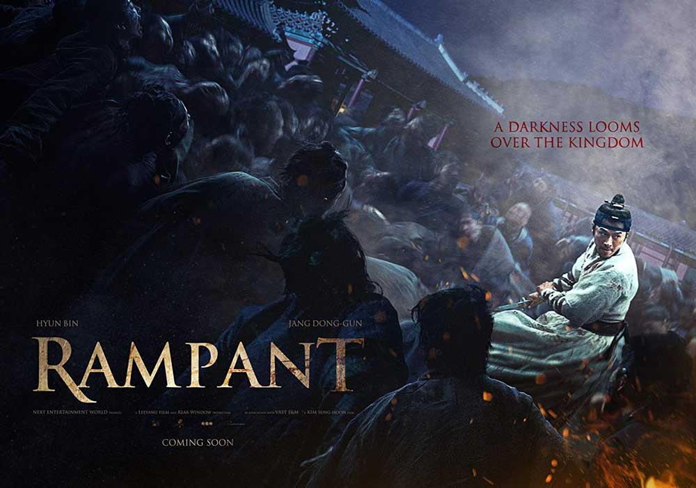 Rampant (2018) – Review | Korean Zombies on Netflix | Heaven